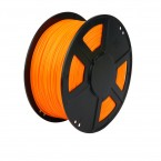 abs orange 3d printer filament