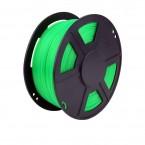 abs translucent green 3d printer filament