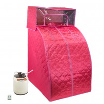 Pink Personal Sauna and Steam Room