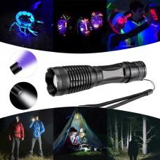 Tactical LED 800LM Flashlight with UV Light