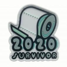 2020 Toilet Paper Survivor PVC Morale Patch 3D Badge #9002